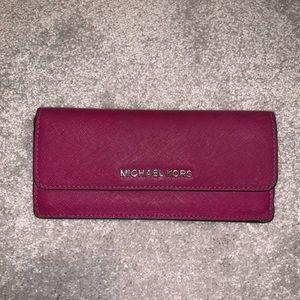 Good Condition Michael Kors wallet in Magenta